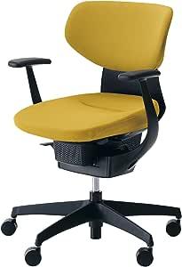 コクヨ イング イス オリーブイエロー クッションタイプ デスクチェア 事務椅子 座面が360°動く椅子 CR-G3201E6G41S-VN 【ラクラク納品サービス】
