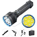 OLIGHT X9R Marauder 25000 Lumen XHP70.2 LED Super Bright Rechargeable Flashlight, Search Flashlight with 8x18650 Rechargeable