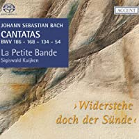 J.S. Bach: Cantatas for the complete liturgical year Vol 17 - Widerstehe doch der Sunde, BWV186, 168, 134, 54 by La Petite Bande (2013-10-10)