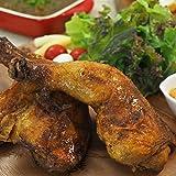 ローストで絶品 熟成鶏 骨付き鶏もも マイルド&カリー味 1本 冷凍