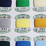 ダルマ 家庭糸 細口 手縫い糸 30番手 100m col.白 01-0130