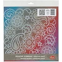 Viva Decor 400600200 Paisley Background Stencil