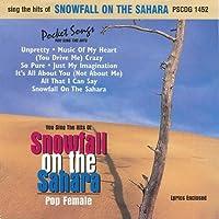 Snowfall on the Sahara