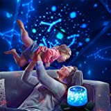 Star Projector Night Light, 360 Degree Rotation Baby Projector Lamp with USB Cable Gift Bag Kids Baby Bedroom Lighting Decora