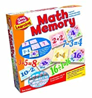 Small World Toys Learning - Math Memory Card Game [並行輸入品]