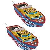 キャンドルボート モデル 船 模型 子供 おもちゃ 贈り物 2個入