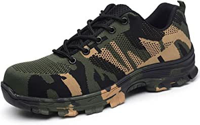 [JACKS HIBO] 安全靴 作業靴 メッシュ あんぜん靴 レディース 鋼先芯 セーフティーシューズ 通気性抜群 防臭 防滑 耐磨耗 耐油性 絶縁 あんぜんぐつ メンズ 526 グリーン 45