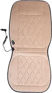 steman-net 超高品質ダイヤモンドカシミア暖房クッション 水洗い可の自動車座席シートヒーター 32W DC12V シガーソケット 二段階調節可能 30-60℃加熱 滑り止め工芸 愛車に高級感を与えます