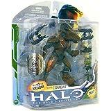 Halo 3 McFarlane Toys Series 5 (2009 Wave 2) Exclusive Action Figure BROWN Elite Combat (Dual Plasma Rifles and Trip