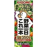 [Amazon限定ブランド] カゴメ 野菜一日これ一本200ml 紙ストロー使用 ×24本 サポベジ