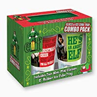 Elf the Movie Rectangle Phrase Pin & Ice Cube Tray Combo Pack