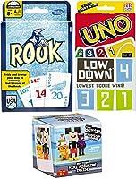 カードゲーム3パックUno &ルーク+ Low DownトリプルブラインドボックスセットMystery Figure Disney Mini Crossy道路文字