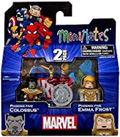 Marvel Minimates Assortments - Phoenix Five Colossus/Phoenix Five Emma Frost