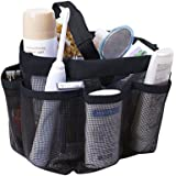 Quick Dry Mesh Shower Caddy, Hanging Shower Tote Bag Toiletry Bath Organizer Makeup Comestic Storage Bag Basket with 11 Stora