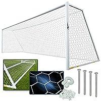 アゴラチャネルPro Youth Soccer Goalゴールキット–7' x 21' ( 1)