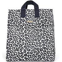 Stella McCartney Midnight Blue Leopard Giraffe Print Beach Bag