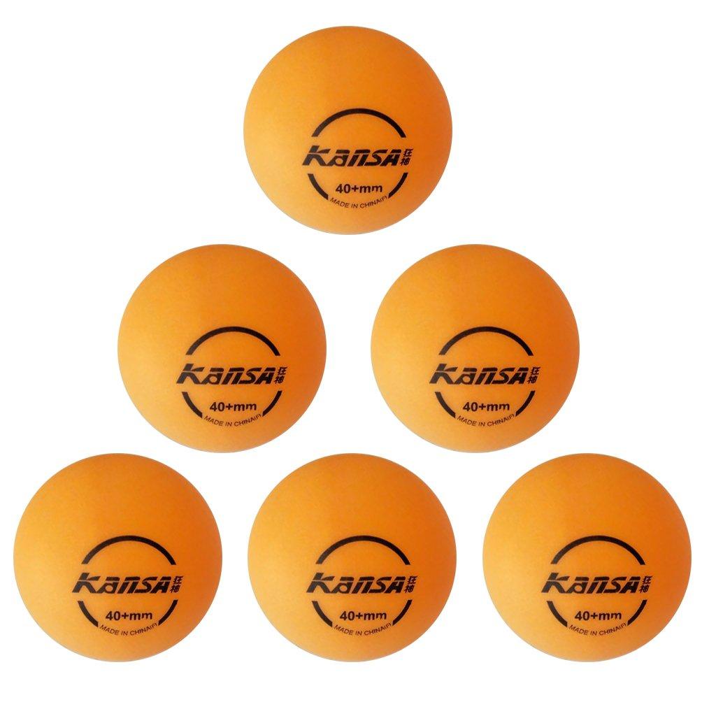 6個入り 練習用 ピンポン 卓球ボール ビール ポン ボール イエロー