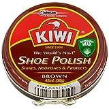 KIWI(キィウィ) 靴用クリーム 油性靴クリーム 茶色用 45ml