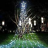 PUHONG Christmas Tree Lights Outdoor(White)