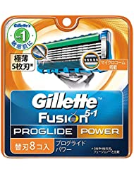 ジレット プログライド フレックスボール パワー 髭剃り 替刃 8コ入 × 20点