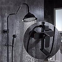 ブラックアンティーク銅、ブロンズシャワーセットシャワータップ、シャワータップ、すべての内スタイルコスチュームwith回転、A Liftingスリング CCYYJJ