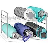 YouCopia 50185 UpSpace Water Bottle Organizer, 2 Shelf, White