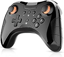 Switch コントローラー DinoFire Bluetooth 接続 switch プロコン ワイヤレス 無線 任天堂 スイッチに対応 コントローラー Nintendo Switch 適用 pro コントローラー 左側に振動モーター搭載