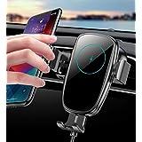車載ワイヤレス充電器 車載ホルダー 車載 自動開閉 片手操作 15W高速充電 車 スマホホルダー iPhone12/mini/pro/pro max/se2/11/X/XR/XS/XSMAX/Samsung Galaxy S20 /S10/S10+