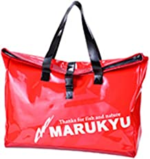 マルキュー(MARUKYU) フィッシングギア トートバッグIK-01 レッド.