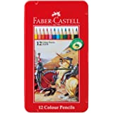 ファーバーカステル 油性色鉛筆 平缶 12色セット TFC-CP/12C