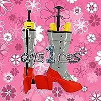 【サイズ選択可】コスプレ靴 ブーツ 12L1503 ファイアーエムブレム 覚醒 ルキナ Lucina 男性25.5CM