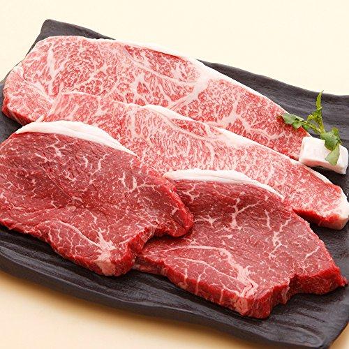 神戸牛 サーロイン & 柔らか赤身ステーキ セット 各3枚(1枚 約200g)お急ぎ便 無料
