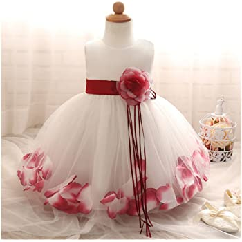 ab7dd18e13ed3 Candykids キッズドレス 花飾り 花びら 子供フォーマル 子供ドレス ワンピース 女の子ドレス ふわふわ ガールズフォーマル