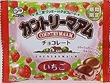 不二家 カントリーマアムチョコレート(いちご)MP 40g×10袋
