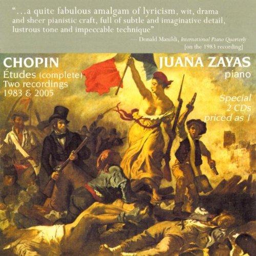 ショパン:112の練習曲Op.10、212の練習曲Op.25、33つのマズルカOp.59