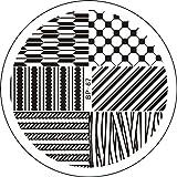 Amazon.co.jpノーブランド 1枚アロージオ柄 イメージプレートスタンピングネイルアート [並行輸入品]