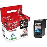 【Amazon.co.jp 限定】ご使用前に必ず取扱説明書をご確認ください ジット キヤノン(Canon)対応 リサイクル インクカートリッジ BC-340XL 増量 ブラック対応 JIT-NC340BXL