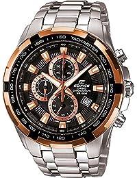 [カシオ]CASIO EDIFICE メタリックブラウンベゼル 100m防水 クロノグラフ EF-539D-1A5VUDF メンズ 腕時計 エディフィス [並行輸入品]