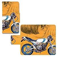 miraie[KYL23] cronos 手帳型スマホケース カバーau オートバイ バイク ヤマハYAMAHA RZ350東本昌平 漫画...