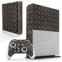 igsticker Xbox One S 専用 スキンシール 正面・天面・底面・コントローラー 全面セット エックスボックス シール 保護 フィルム ステッカー 000388