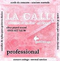 CUERDAS GUITARRA CLASICA - Galli (LG50) Clasica (Juego Completo)