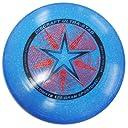 Discraft ウルトラスター 175g アルティメット スポーツディスク (ラメ入りブルー)