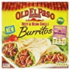 Old El Paso Burritos Dinner Kit (620g) 古いエルパソブリトーディナーキット( 620グラム)