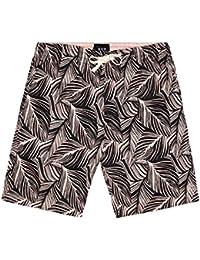 HUF(ハフ)PT62003 TROPICS EASY ショーツ(TEEシャツ)(SMOKEPINK)(Lサイズ)HUF(ハフ)PT62003 TROPICS EASY ショーツ(TEEシャツ)(SMOKEPINK)(L