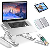 Laptop Stand, Ipad Stand, Tablet Stand, Tablet Holder, Portable Laptop Riser, Adjustable Notebook Stand, Chromebook, Laptop D