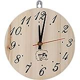 サウナタイマー 12分計 サウナ用 クロック 木製 おしゃれ 読みやすい サウナ時計 サウナタイマー時計 サウナアクセサリー