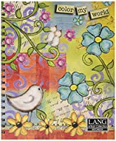 Artisan Color My World Spiral Bound Sketchbook by Lisa Kaus, 10 x 11.25 Inches (4006000) by Artisan