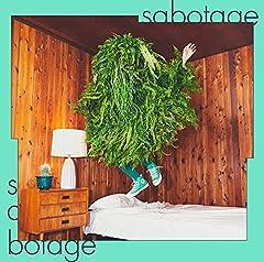 緑黄色社会「sabotage」の歌詞を収録したCDジャケット画像