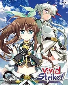 【Amazon.co.jp限定】ViVid Strike! Vol.1(全巻購入特典:「オリジナルB2布ポスター」引換シリアルコード付) [Blu-ray]