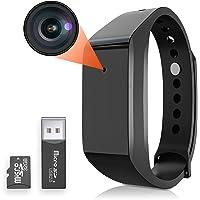 Buloge 小型カメラ 1080P 高画質 ループ録画 録音 撮影 録画時ランプ非点 32GBカード付き 長時間録画…
